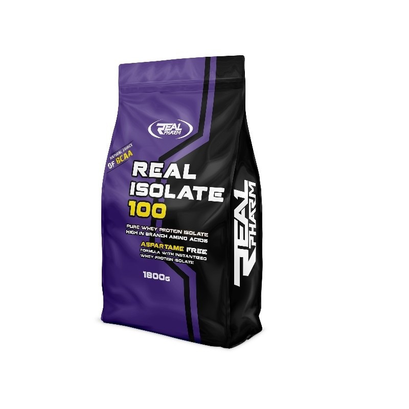 Протеин Real Pharm Real Isolate 100 1,85 kg