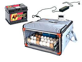 """Инкубатор бытовой """"Broody Micro Battery 50"""" (авто регулировка влажности и температуры, аварийное питание)"""