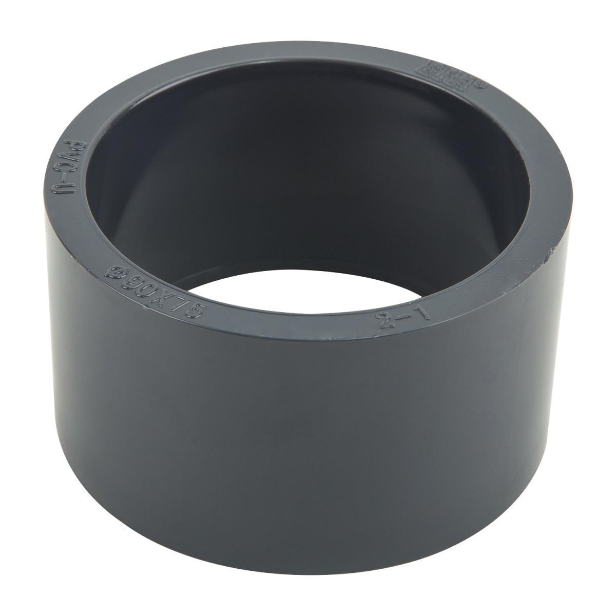 Редукционное кольцо ПВХ ERA 90х63 мм.