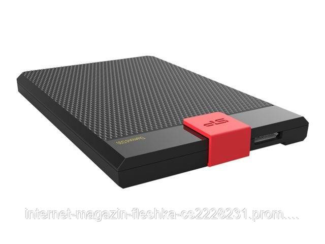 Внешний PHD External 2.5'' SiliconPower USB 3.1 Diamond D30 2TB Black