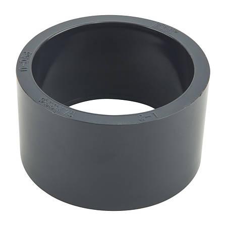 Редукционное кольцо ПВХ ERA 90х75 мм., фото 2