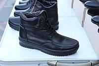 Мужские кожаные зимние ботинки AN 001