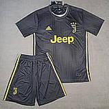Детская футбольная форма ЮВЕНТУС №7 Роналдо + гетры в подарок, фото 5