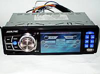 "Автомагнитола Alpine 3612 Blue - 3,6"" TFT Video экран -Divx/mp4/mp3 USB+SD, фото 1"