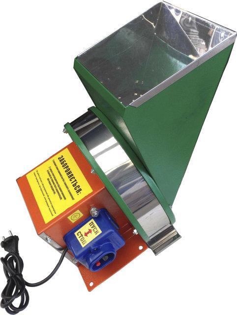 Електричний подрібнювач для фруктів , овочів і коренеплодів (нержавіюча сталь)