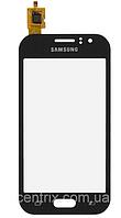 Тачскрин (сенсор) для Samsung J110H, DS Galaxy J1 Ace, черный, оригинал