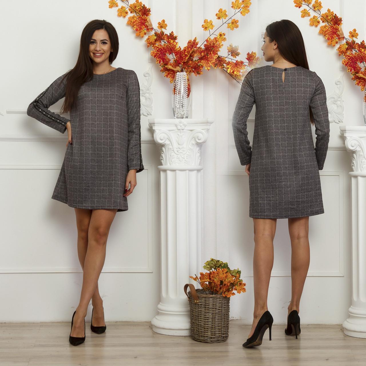 5cf1c0c1d659f Платье женское модное в клетку (S - L) - оптом и в розницу прямые поставки  с 7 км Одесса, цена 275 грн., купить в Одессе — Prom.ua (ID#799080664)