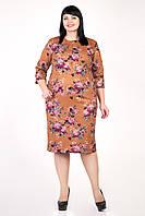 """Платье женское """"Джордана"""" с цветочным принтом (М358)        , фото 1"""