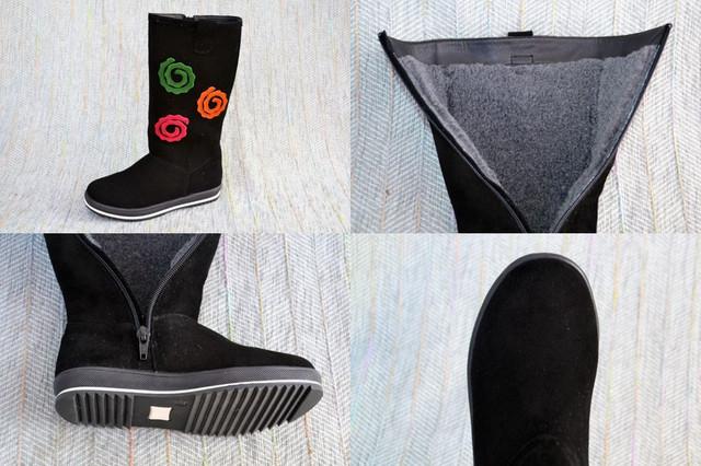 Замшевые сапоги девочки, Eleven shoes фото