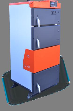 Котел твердотопливный TIS UNI 35 кВт., фото 2
