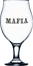Купить бокалы пивные с логотипом 570 мл