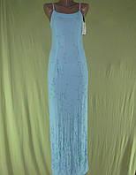 Платье женское морская волна