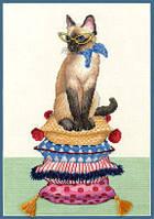 DIMENSIONS Набор для вышивания Cat Lady / Леди-кошка