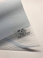 Рулонная штора день-ночь голубая, фото 1