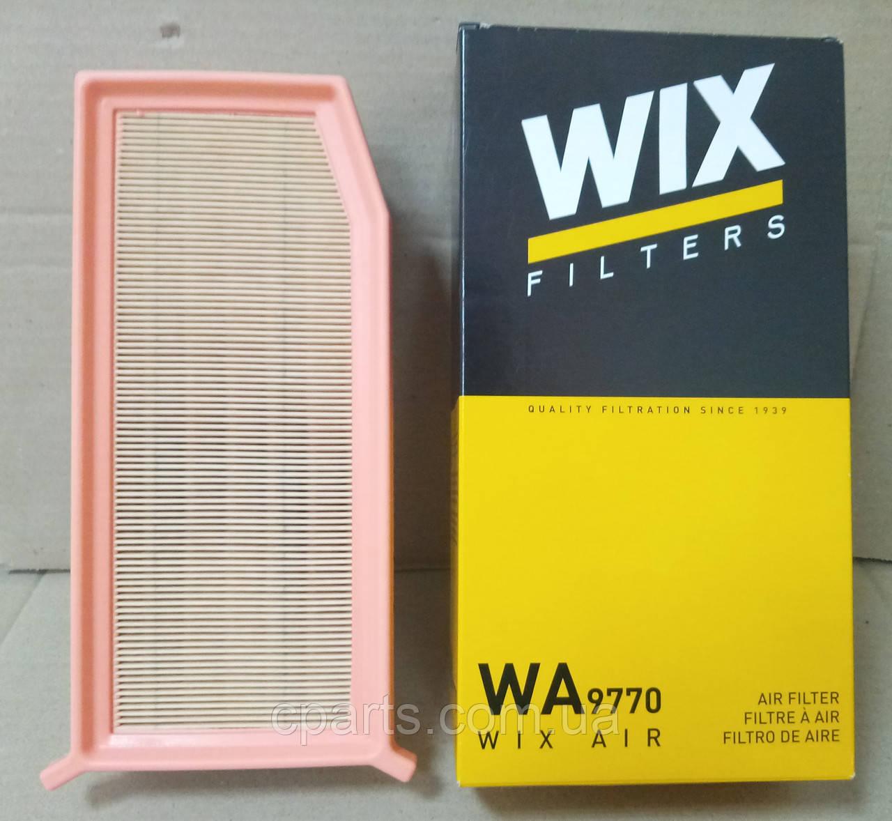 Воздушный фильтр Renault Duster 1.5 DCI с 2015 года (Wix WA9770)(среднее качество)