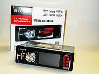 Автомагнитола Sony 3016А Video экран LCD 3'' USB+SD, фото 1