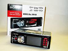 """Автомагнітола Sony 3016А Video екран LCD 3"""" USB+SD"""