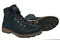 Мужские кожаные зимние ботинки Repster для подростков  , фото 1