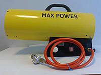 Аренда газовой тепловой пушки MAX POWER тепловинтилятор, обогреватель газовый, фото 1