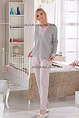 Женская пижама, домашний комплект из нежнейшей ткани