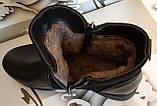 Ботинки женские зима на толстой подошве из натуральной кожи от производителя модель СВ18-185, фото 5