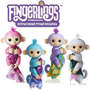 Интерактивные ручные обезьянки / Fingerlings WowWee