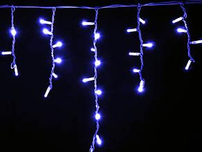 Гирлянда внешняя ICICLE   (Рваная штора, бахрома) Синий 2000x700 Каучук