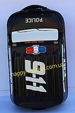 Чемодан детский дорожный качество Люкс ручная кладь Josepf Ottenn на 2 колесах Military auto 18  IMG4957 , фото 2