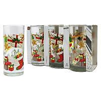 Набор стаканов Uniglass Classico Santas Mail 270 мл 6 шт. высокие