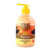 Крем-мыло с увлажняющим молочком (Папайя) - Fresh Juice Cream-Soap Papaya 460ml