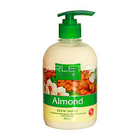Крем-мыло с увлажняющим молочком (Миндаль) - Fresh Juice Cream-Soap Almond