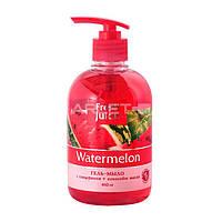 Гель-мыло для рук с глицерином (Арбуз) - Fresh Juice Soap-Gel Watermelon 460ml