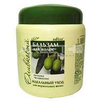 Бальзам для нормальных волос оливковый (Питание&Увлажнение) - Bielita 450мл.
