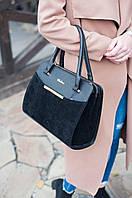 Стильная женская сумка Fashion по низкой цене. Суперкачество! Черный