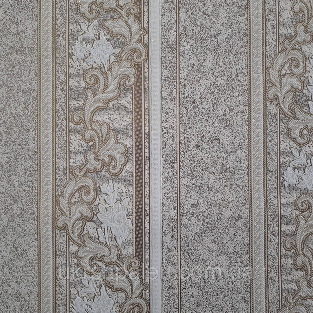 Обои Ванда 2 3602-02 виниловые на флизелиновой основе ширина 1.06,в рулоне 5 полос по 3 метра.
