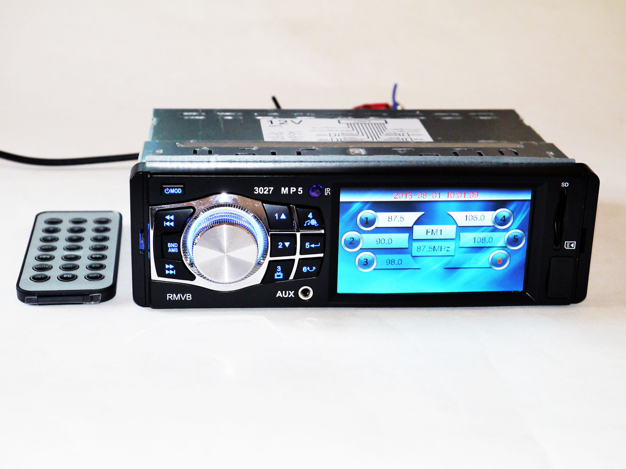 "Автомагнітола Kenwood 3027 3.6"" VIDEO екран USB+SD+FM+AUX"
