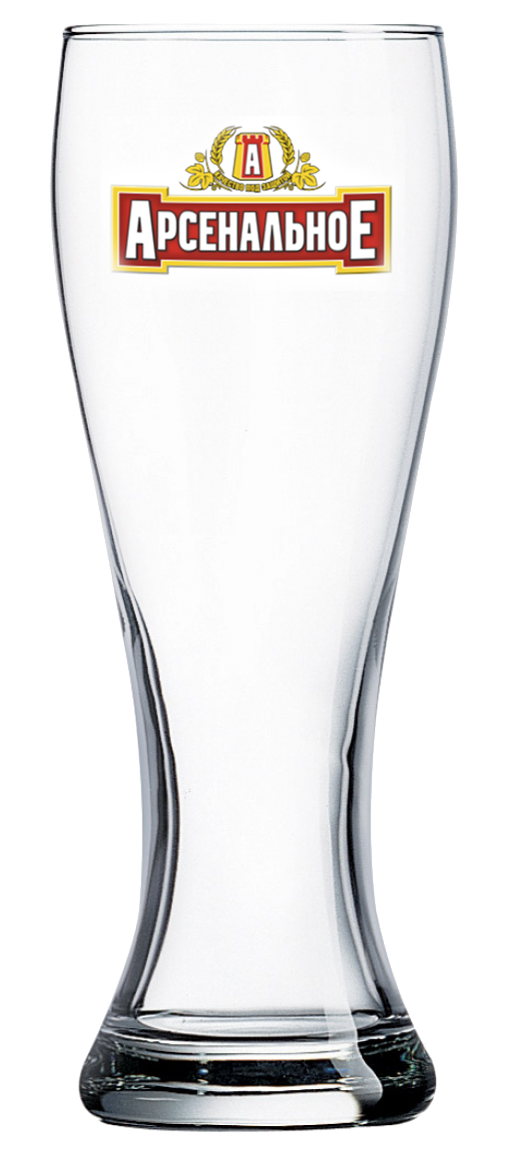 Нанесение логотипа на пивной стакан