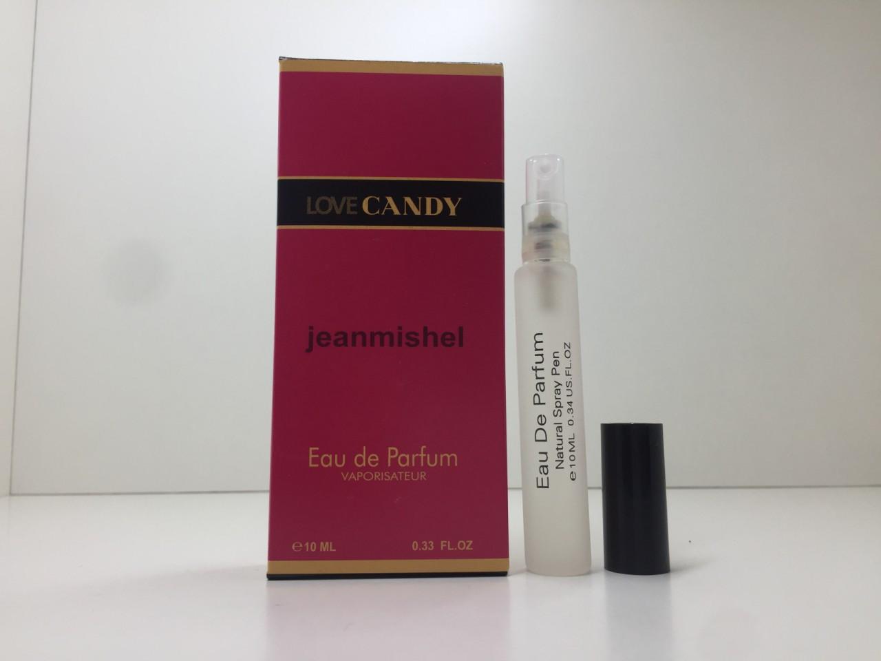 Мини парфюм женский Jeanmishel Candy (Жанмишель Кенди) 10 мл