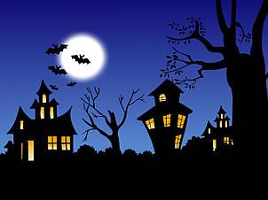 Вафельная картинка halloween, для торта