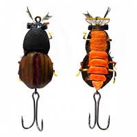 Воблер-жук Strike VB03-О  Maybug оранжевый