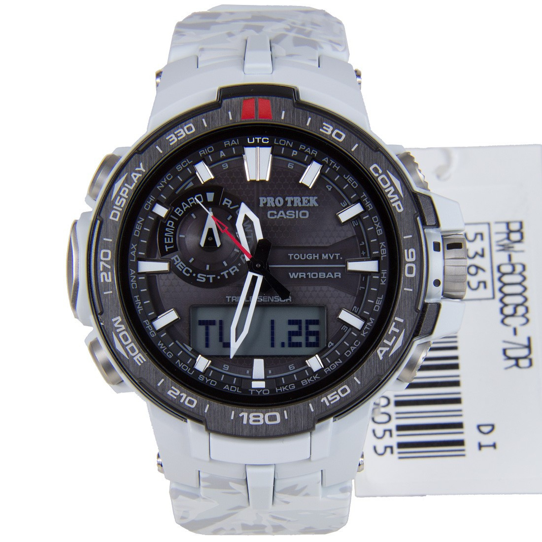 Часы Casio Pro-Trek PRW-6000SC-7