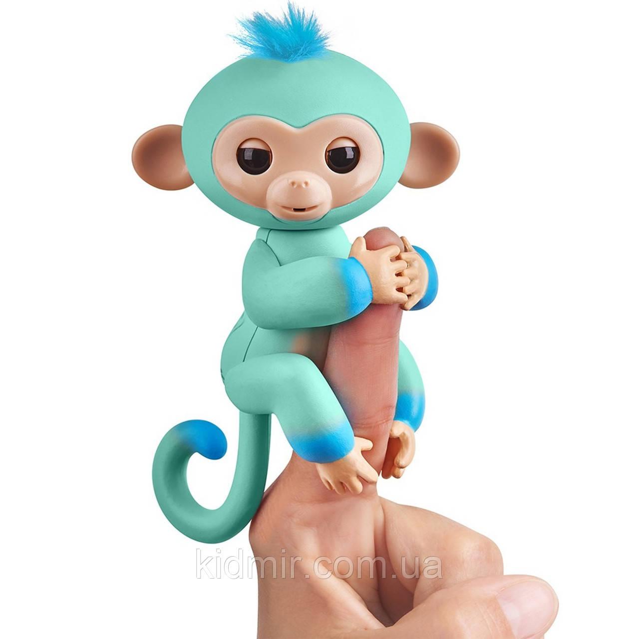 Обезьянка интерактивная Эдди Fingerlings Monkey WowWee Оригинал