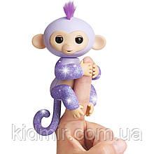 Іграшка Fingerlings інтерактивна мавпочка Кікі блискуча серія WowWee 3762