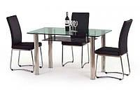Стеклянный стол Halmar Lenart