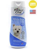 Шампунь-кондиционер 8 in 1 White Pearl для собак со светлой шерстью, 473 мл