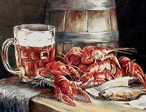 """Набор алмазной вышивки (мозаики) """"Любимое пиво"""", фото 2"""