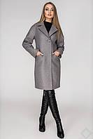 """Стильное женское пальто демисезонное """"Стамбул"""", PS2399 серый"""