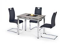 Стеклянный стол Halmar Logan 2 Gray