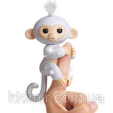 Обезьянка интерактивная Сахар Fingerlings Monkey Glitter WowWee Оригинал