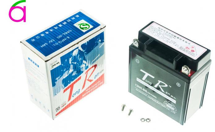 Аккумулятор 12V 5А пастовый (высокий) (черный), фото 2
